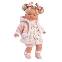 Кукла Llorens: Кукла Роберта 33См Блондинка В Розовом Наряде
