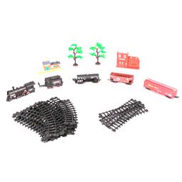 Набор игрушек LCF Railway Series: Грузовой Поезд 4 Вагона №2