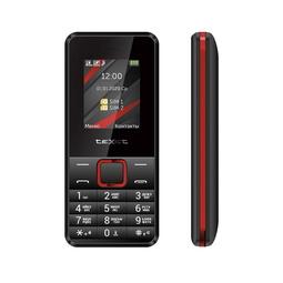 Мобильный телефон Texet TM-207 Black/Red