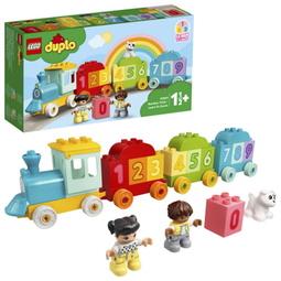 Конструктор Lego: Duplo Поезд С Цифрами — Учимся Считать 10954