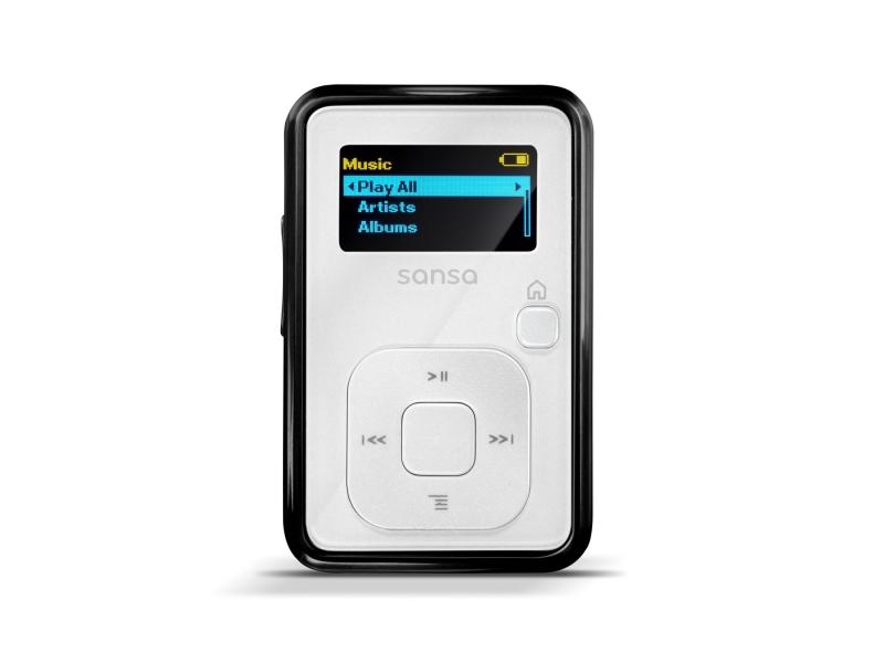 MP3 плеер Sandisc SDMX18-004G-E46W 4Gb white