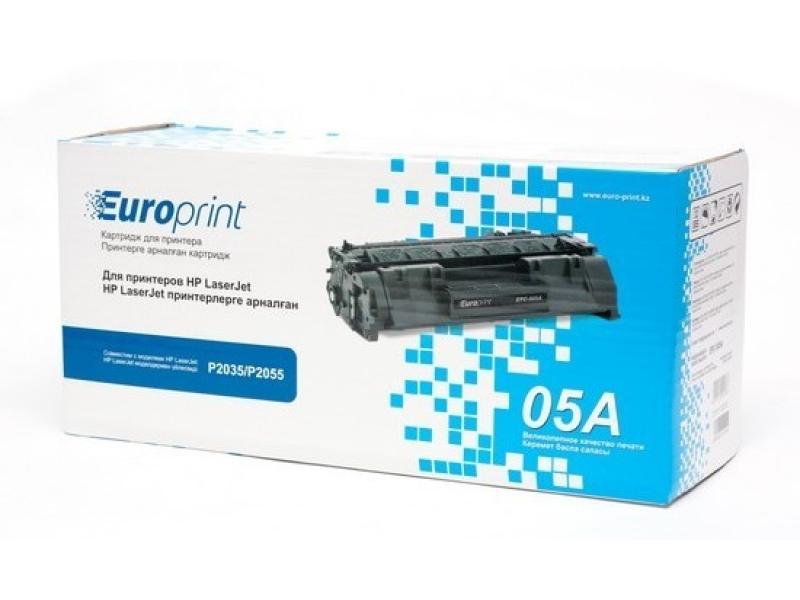 Картридж HP CE505A Black