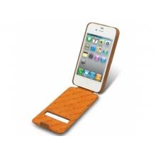 Чехол для мобильного телефона Melkco APIPO4LCJD1BNCV brown iPhone 4/4S