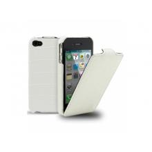 Чехол для мобильного телефона Melkco APIPO4LCJT1WECR white iPhone 4/4S
