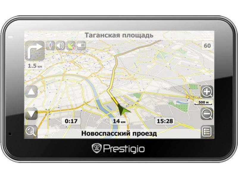 GPS навигатор Prestigio Geovision  4500