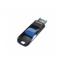 Флэшка Sandisk SDCZ51E-008G-B35B Cruzer Edge Black/Blue