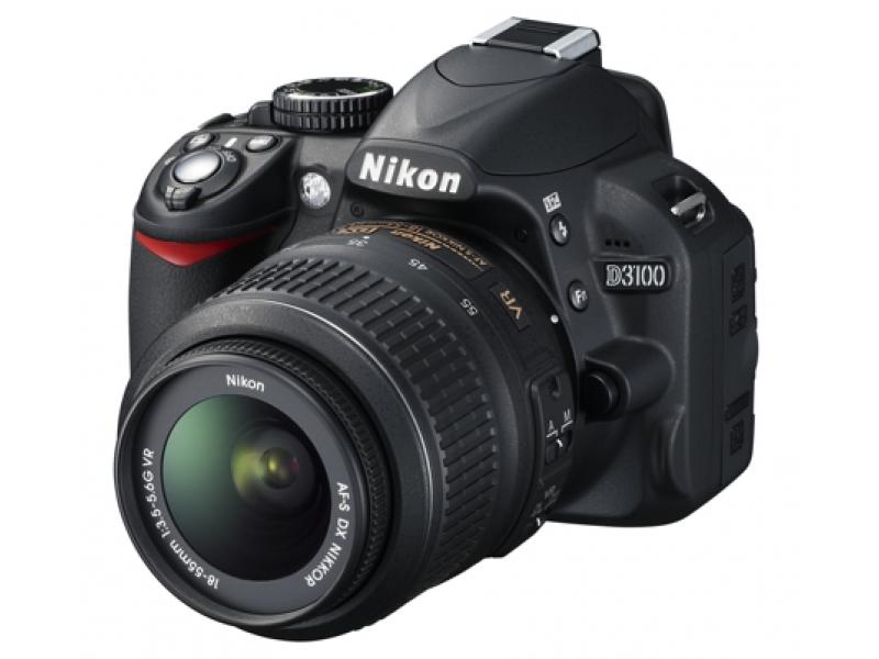 Зеркальный фотоаппарат Nikon D3100 + AF-S DX 18-55VR Black