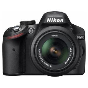 Зеркальный фотоаппарат Nikon D3200+AF-S DX 18-55VR Black
