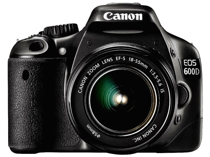 Зеркальный фотоаппарат Canon EOS 600D EF-S 18-135 Lens Kit Black