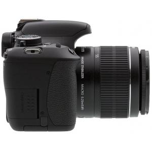 Зеркальный фотоаппарат Canon EOS 600D DZ EF-S 18-55 + 55-250 Lens Kit Black