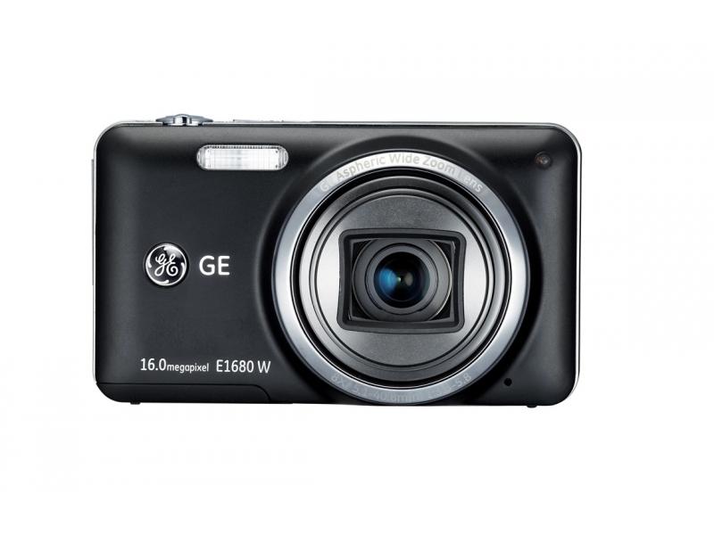 Цифровой фотоаппарат GE E1680W Black