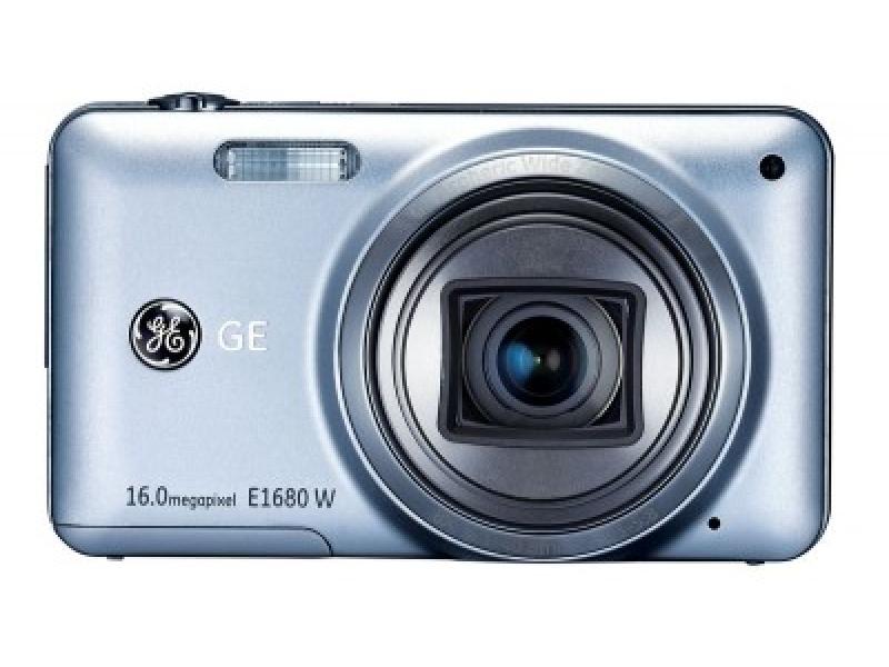 Цифровой фотоаппарат GE E1680W Silver