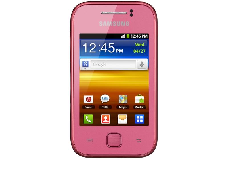 Смартфон Samsung Galaxy Y GT-S5360OMAASKZ