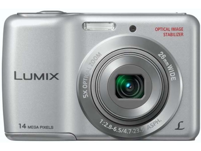 Цифровой фотоаппарат Panasonic Lumix DMC-LS6EE-S silver