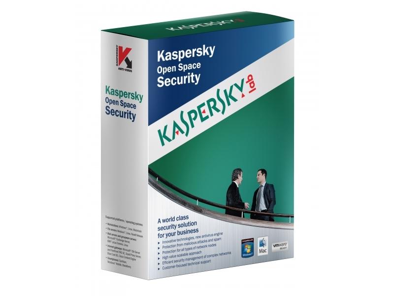 Антивирус Kaspersky Business Space Security  (продление подписки на 1год)