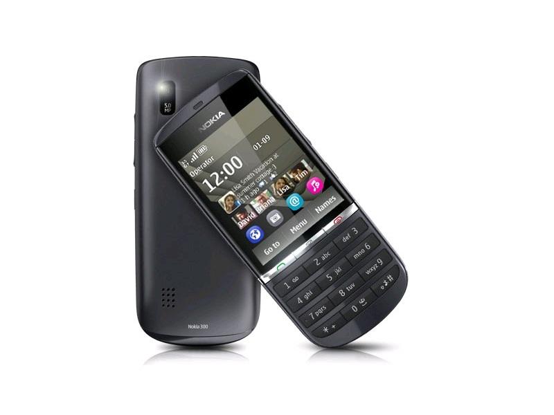 Мобильный телефон Nokia Asha 300 Graphite
