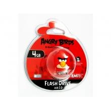 Флэшка Emtec Animals Angry Bird Red