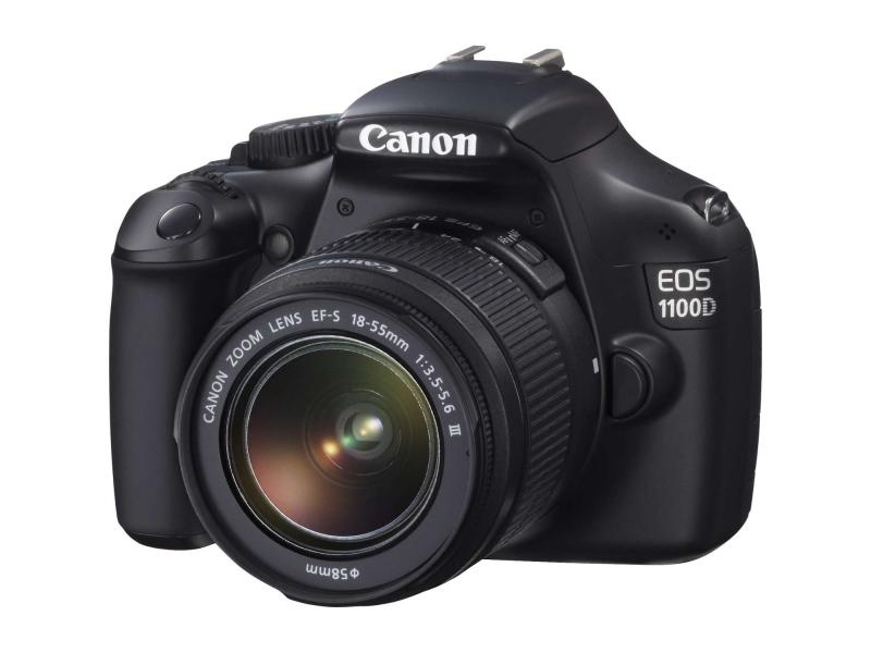 Зеркальный фотоаппарат Canon EOS 1100D 18-55IS II Lens Kit