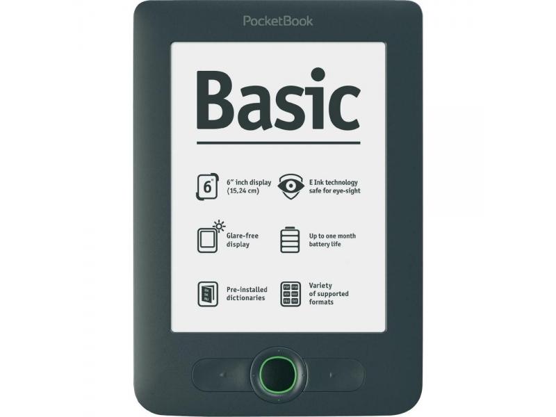 Электронная книга Pocketbook Basic 613 dark grey