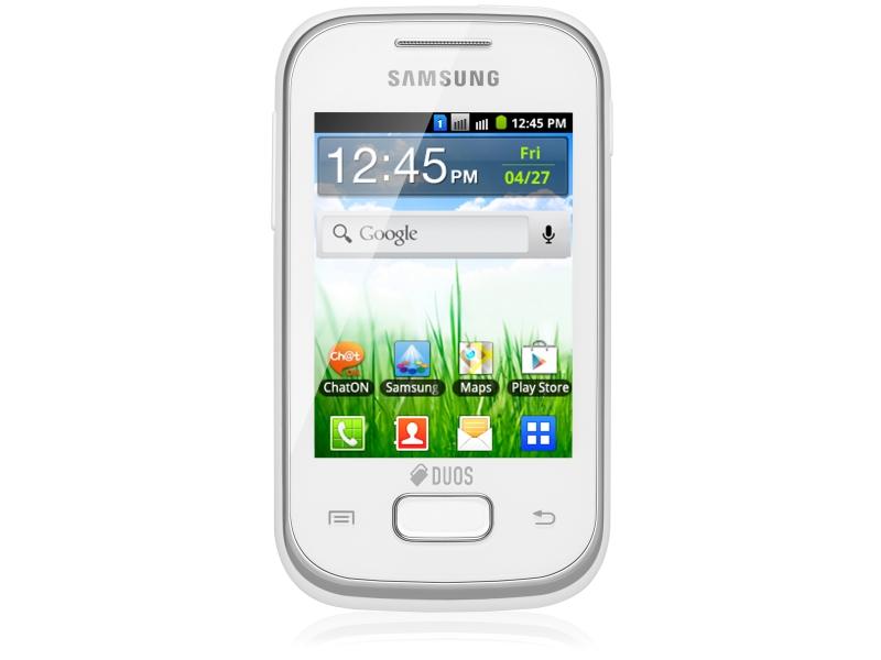 Смартфон Samsung Galaxy Pocket Duos GT-S5302ZWASKZ