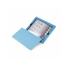 Чехол для планшета Tucano Dritta Vertical IPDAL23-Z iPad3 blue