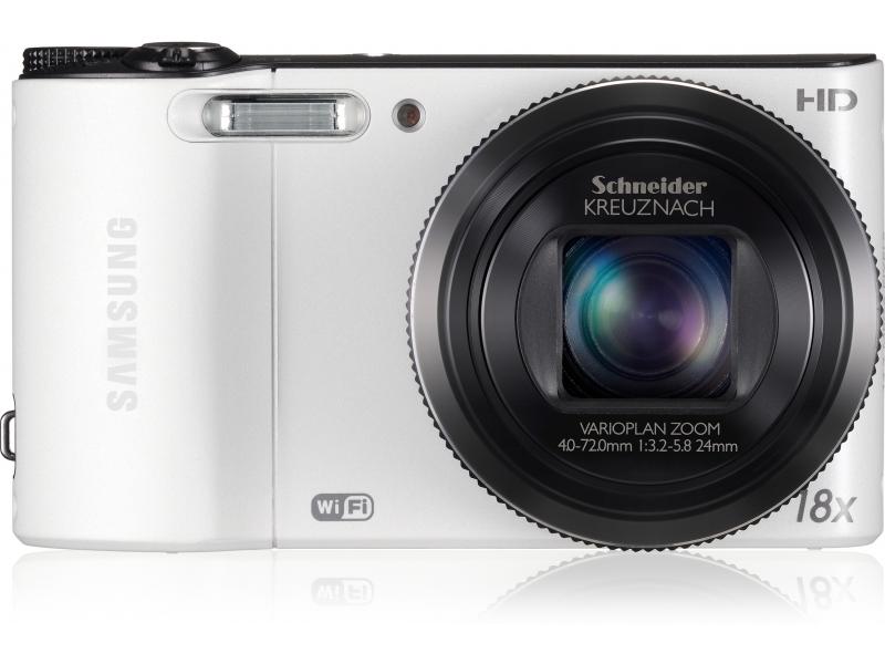 Цифровой фотоаппарат Samsung EC-WB150ZBPWKZ white
