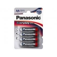 Элемент питания Panasonic Alkaline Every Day Power LR6REE/4BR