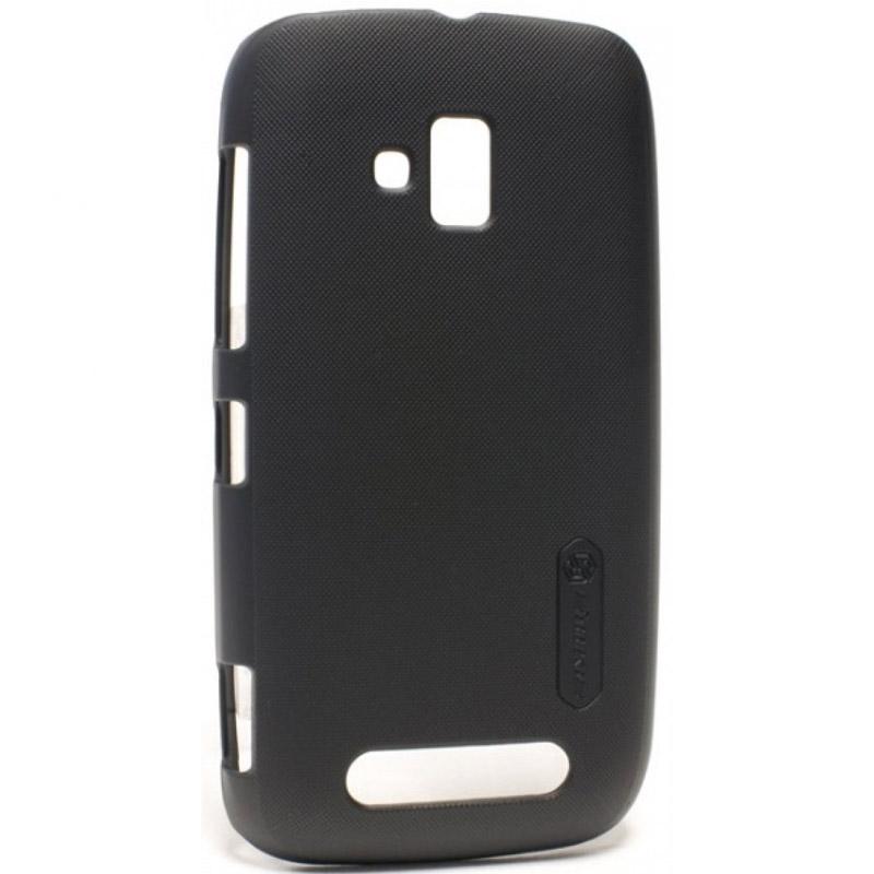 Чехол для мобильного телефона Nillkin Hard Case Для Nokia Lumia 610 Black