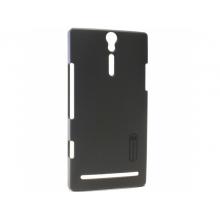 Чехол для мобильного телефона Nillkin Hard Case black Sony Xperia S