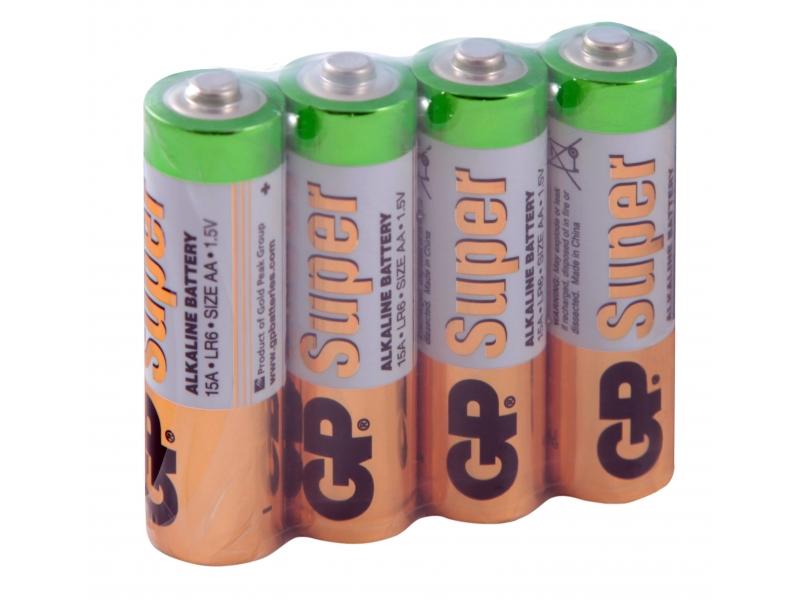 Элемент питания GP Super Alkaline LR6/15ARS-2SB4
