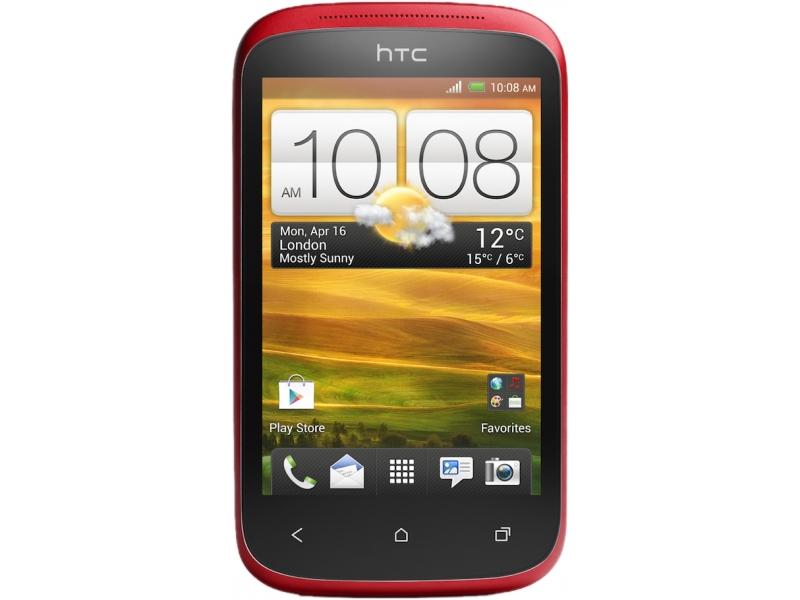 Смартфон HTC Desire C Red