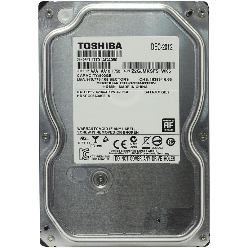 HDD диск Toshiba DT01ACA050