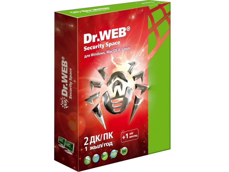 Антивирус Dr.WEB Security Space  Pro (подписка на 12 месяцев)