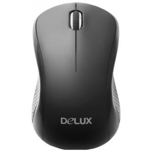 Мышь Delux DLM-391OGQ Black/Gray