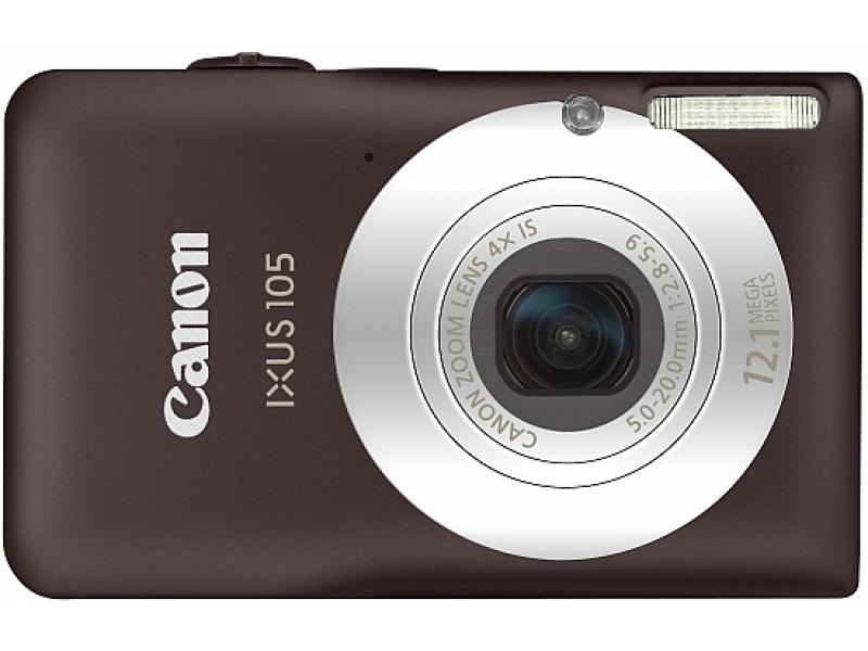 Цифровой фотоаппарат Canon Digital IXUS 105 brown