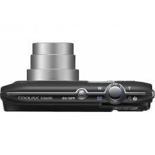 Цифровой фотоаппарат Nikon CoolPix S2600 black lineart