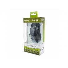 Мышь Delux DLM-528OGQ black/gray