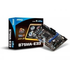 Материнская плата MSI B75MA-E33