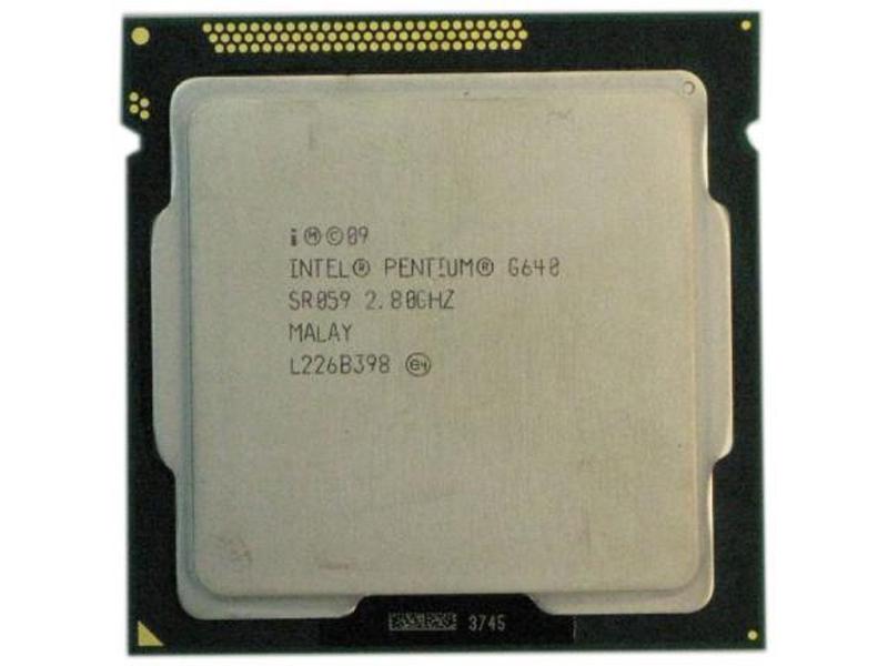 Процессор Intel Dual Core G640