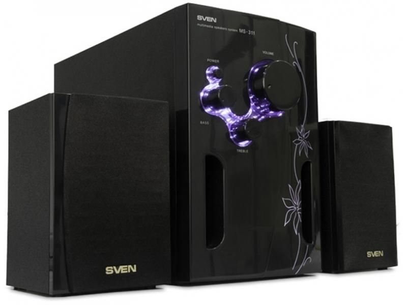 Звуковые колонки Sven MS-311 glamour black