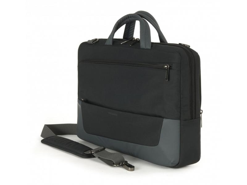 Сумка для ноутбука Tucano Multitasking Horizontal BMTO13 Black/Grey