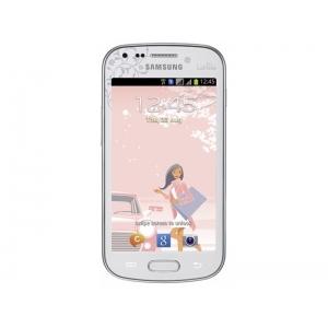 Смартфон Samsung Galaxy S Duos GT-S7562CWZSKZ White La Fleur