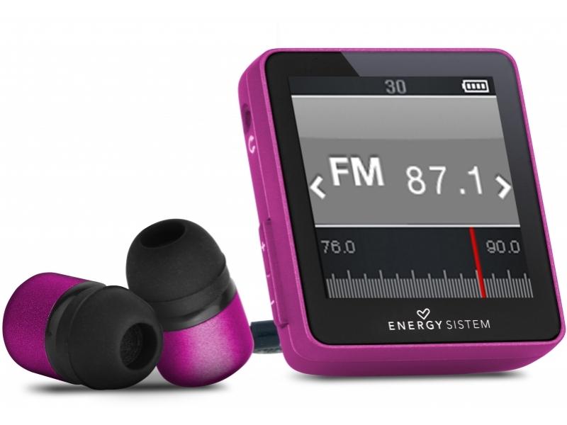 MP3 плеер Energy Sistem 2504 Urban pink glam