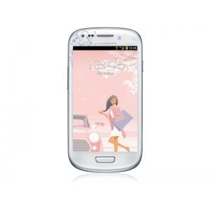 Смартфон Samsung Galaxy S III Mini GT-I8190ZWZSKZ white la fleur