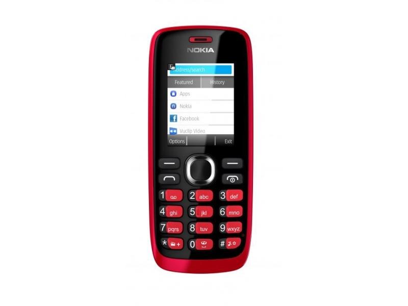 Мобильный телефон Nokia 112 red