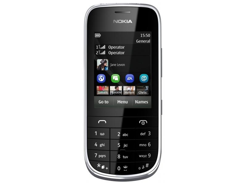 Мобильный телефон Nokia Asha 202 black