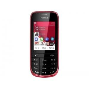 Мобильный телефон Nokia Asha 202 dark red