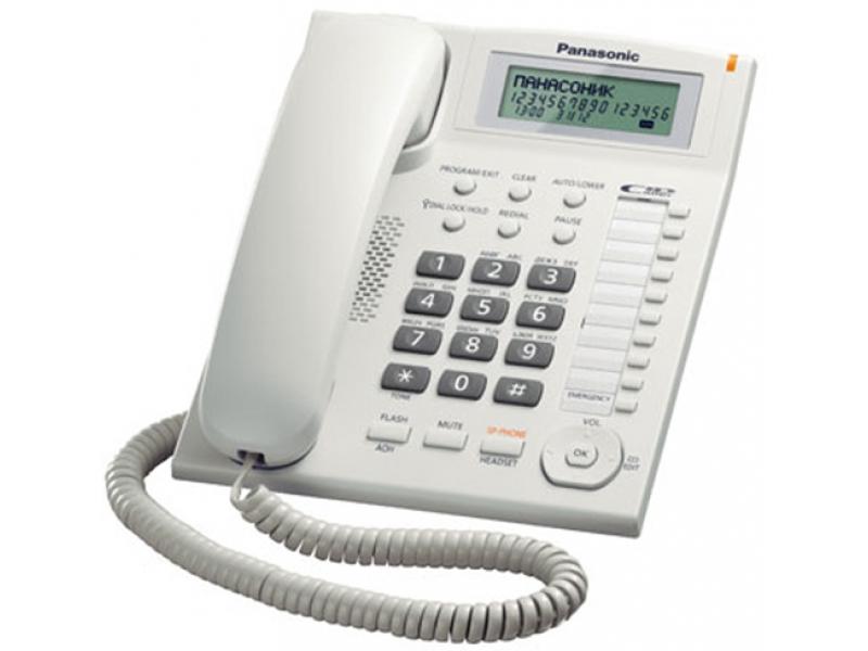 Проводной телефон Panasonic KX-TS2388CAW