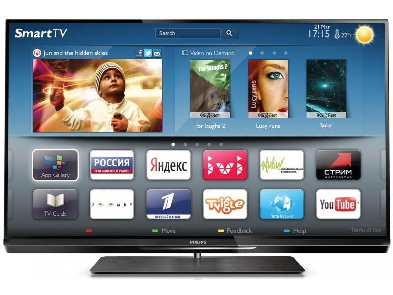 Телевизор Philips 42PFL6097T/60