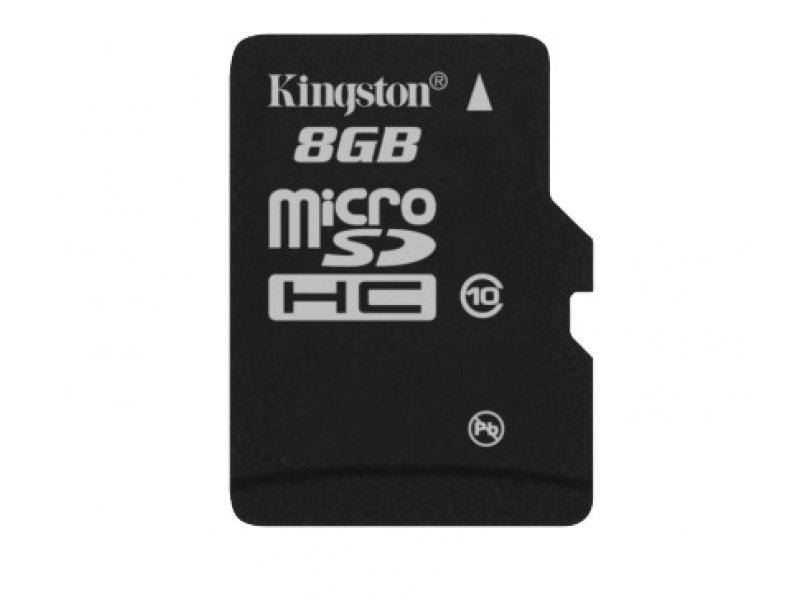 Карта памяти Kingston SDC10/8GBSP